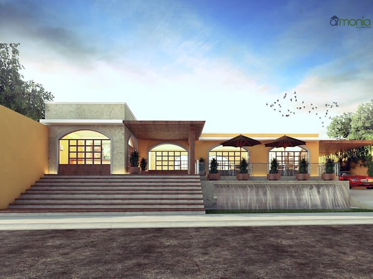 Proyecto: Casas de estilo  por Armonía arquitectos