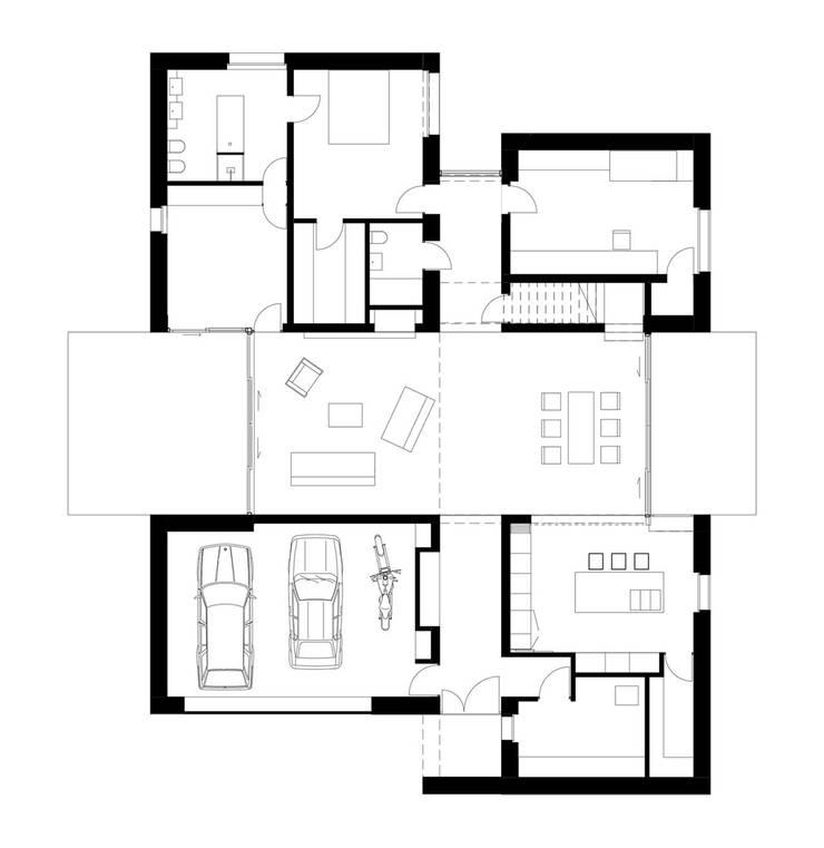 Dom w Rowniu: styl , w kategorii  zaprojektowany przez TOPROJEKT,