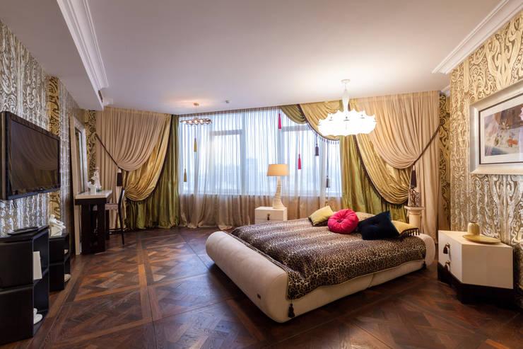 Квартира в современном стиле: Спальни в . Автор – ARTteam