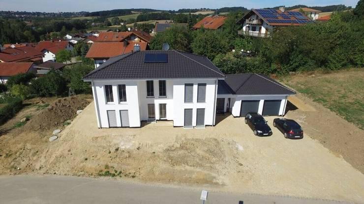 Projekty,  Domy zaprojektowane przez bauconcept
