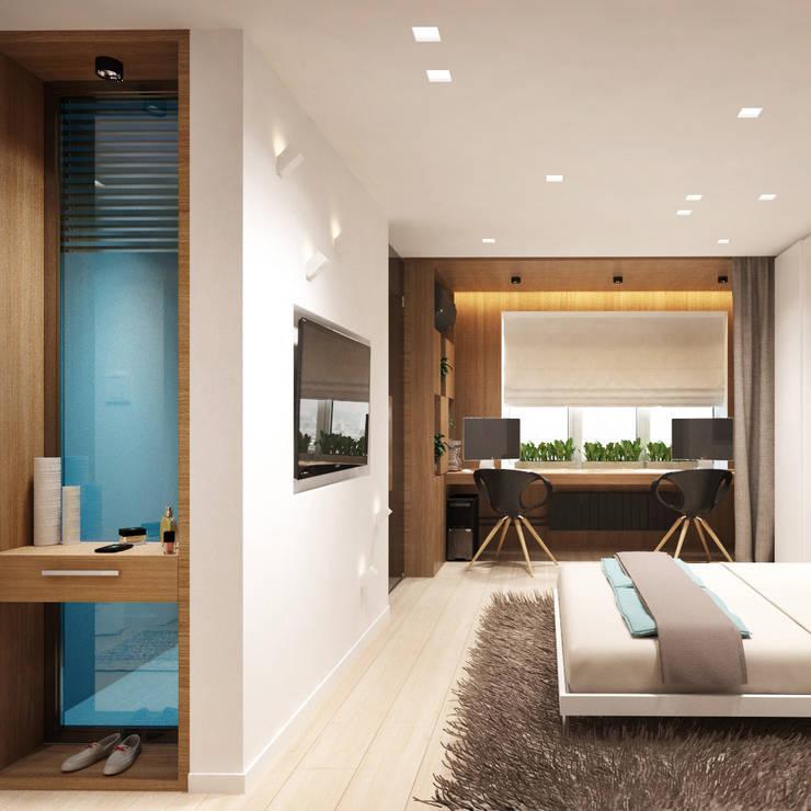 многофункциональные 33 кв.м: Гостиная в . Автор – insdesign II