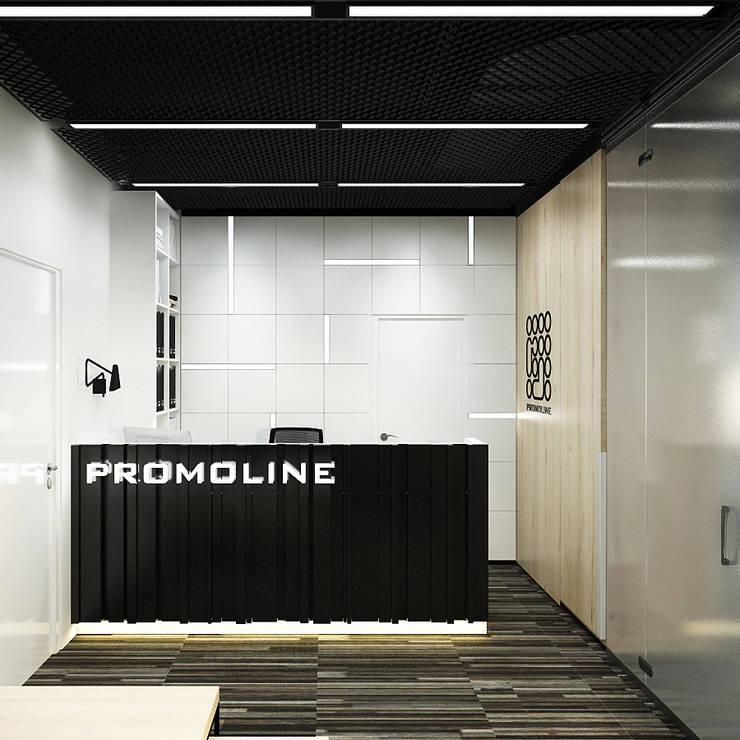 офис Promoline: Офисные помещения в . Автор – insdesign II