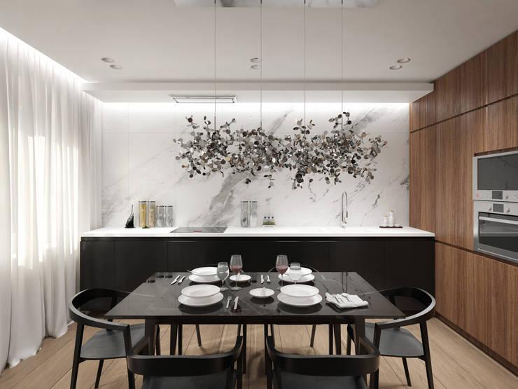 12 квартал: Кухни в . Автор – insdesign II