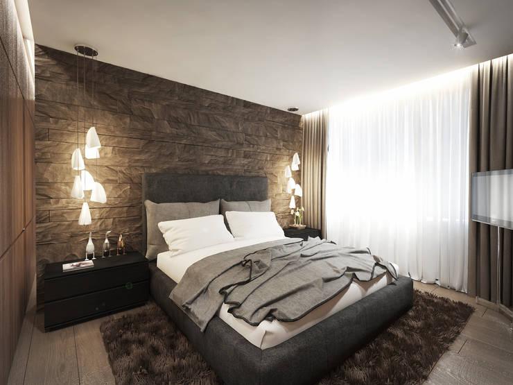12 квартал: Спальни в . Автор – insdesign II