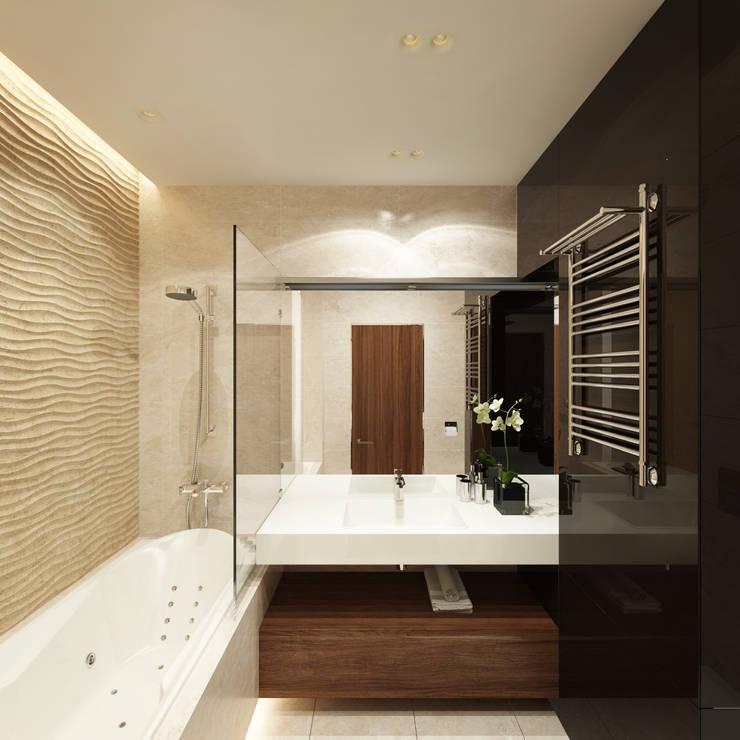 12 квартал: Ванные комнаты в . Автор – insdesign II