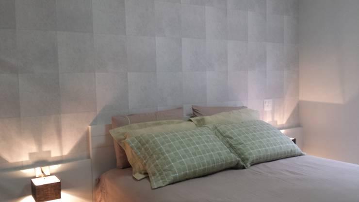 Спальни в . Автор – Trends Casa Arquitetura e Design , Модерн Бумага