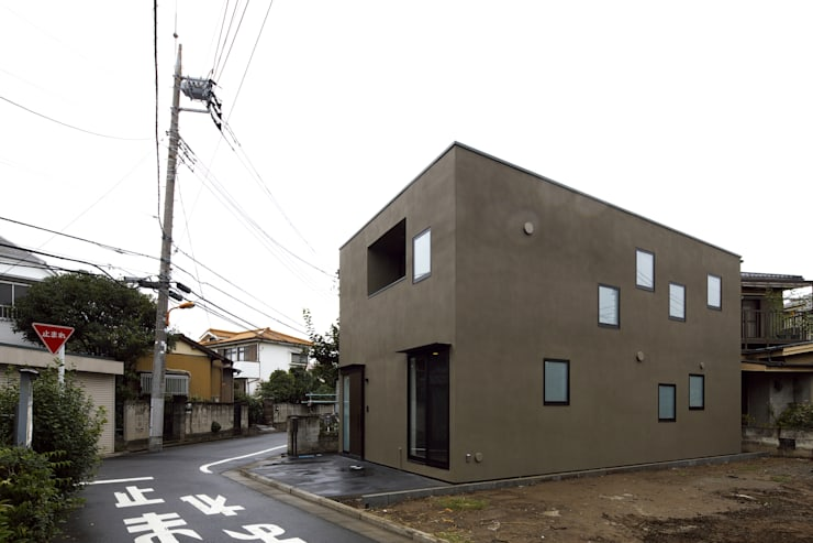 house in ayase: 株式会社廣田悟建築設計事務所が手掛けた家です。,