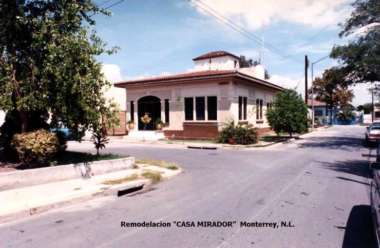 Restauración Casa Mirador: Casas de estilo  por Moya-Arquitectos