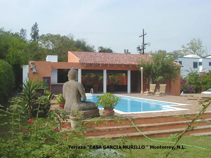 Terraza García Murillo: Casas de estilo  por Moya-Arquitectos