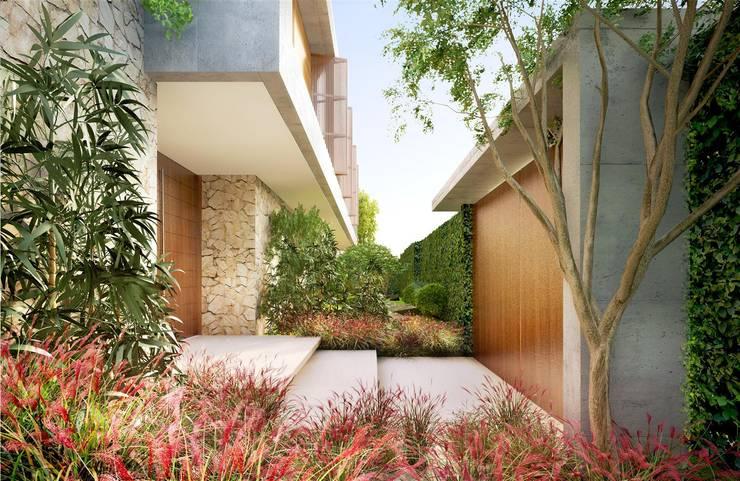 Casa H Acesso: Jardins  por Mader Arquitetos Associados