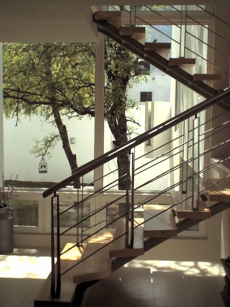 Casa Bazán: Casas de estilo  por Moya-Arquitectos