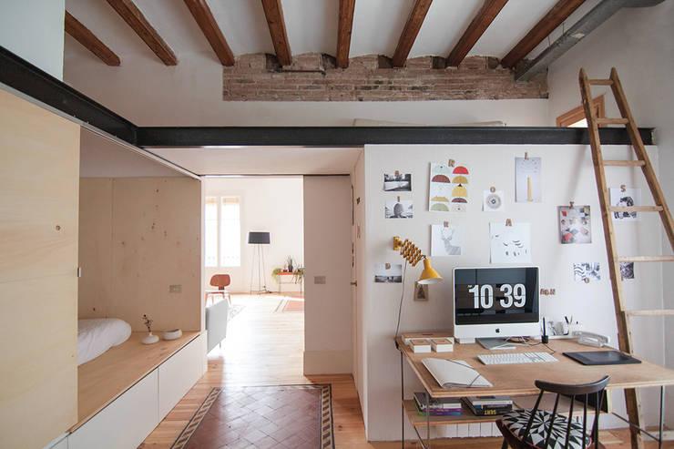 projecte virreina: Casas de estilo moderno de degoma