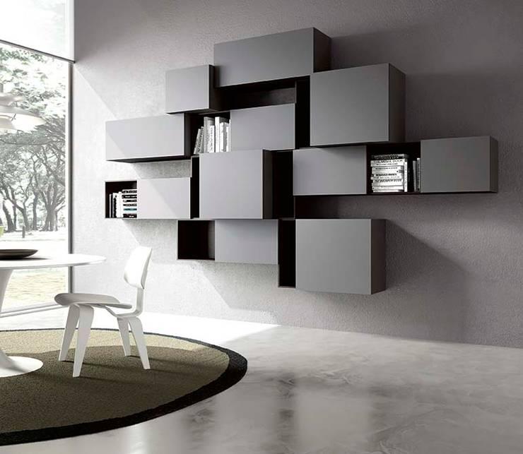 Colore grigio perla idee per pareti e arredamento - Arredamento parete soggiorno ...