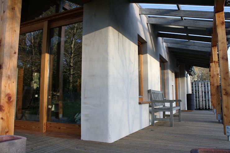 Terrazas de estilo  por Rachel Bevan Architects