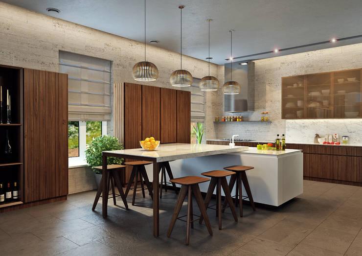 Кухни в . Автор – Rash_studio