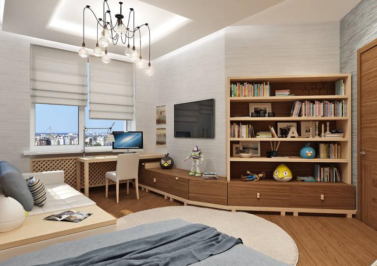Детские комнаты в . Автор – Rash_studio