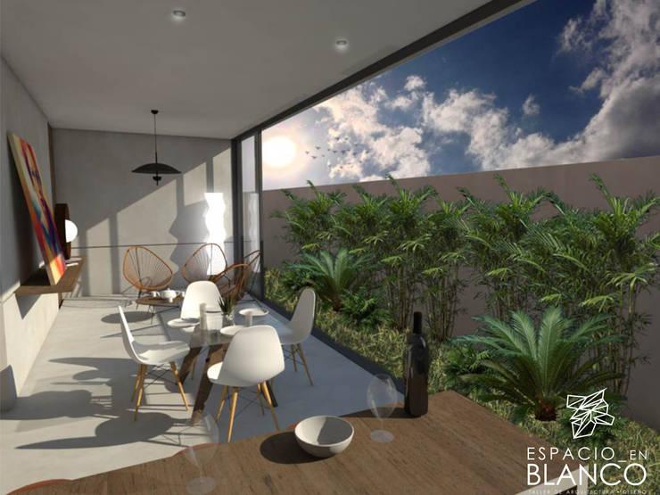 Terra // loft & departamentos :  de estilo  por Espacio en Blanco