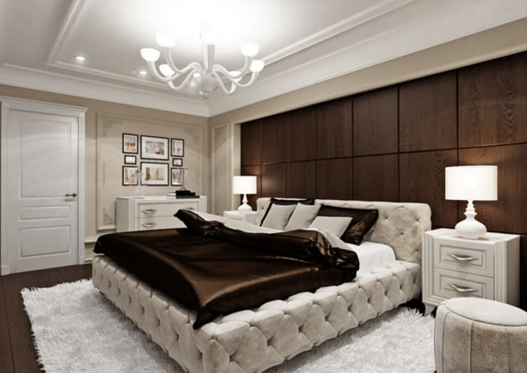 Eclectic style bedroom by Rash_studio Eclectic