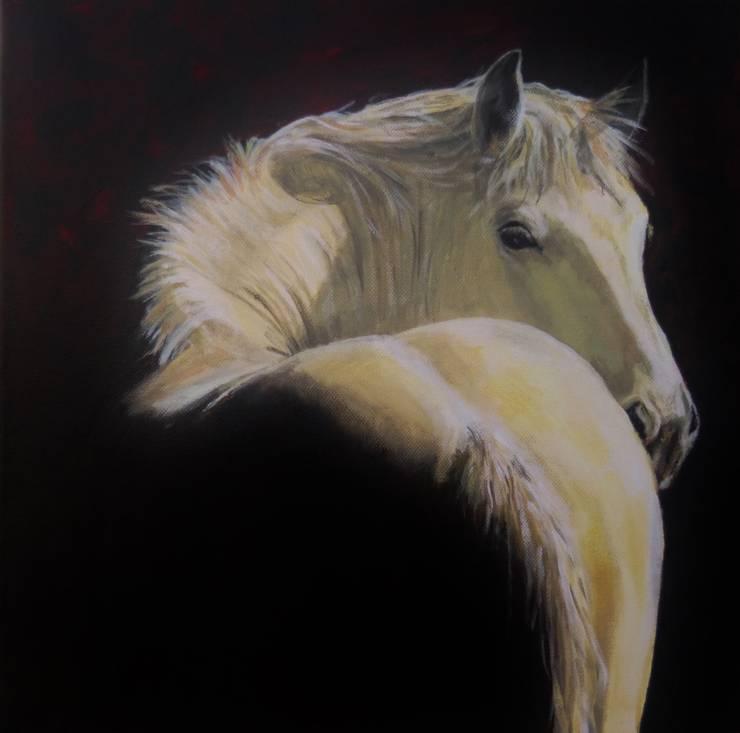 WHAT'S UP:  Kunst  door Paardenschilderij - Ellie Schrotenboer