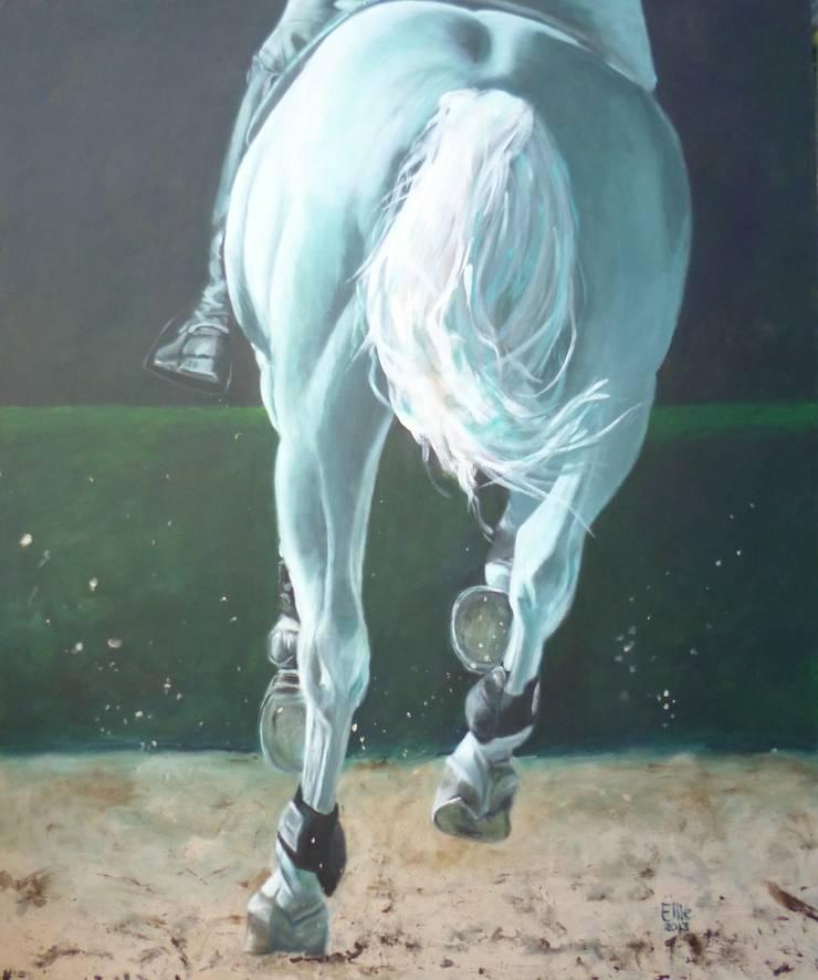 BARRAGE:  Kunst  door Paardenschilderij - Ellie Schrotenboer