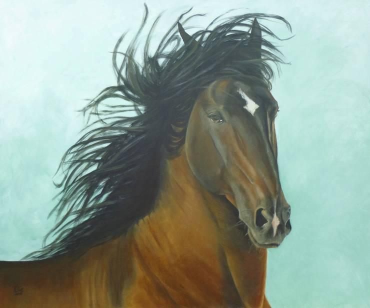 I'M JUST FABULOUS:  Kunst  door Paardenschilderij - Ellie Schrotenboer