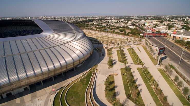 Stadiums by HARARI LANDSCAPE , Modern