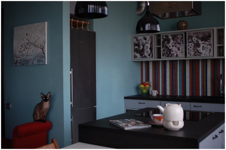 Apartament Olbrachta: styl , w kategorii Kuchnia zaprojektowany przez deco chata,Nowoczesny