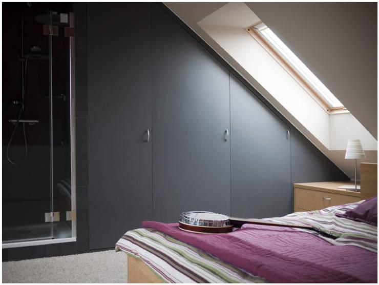 Dom na Zaciszu: styl , w kategorii Sypialnia zaprojektowany przez deco chata,