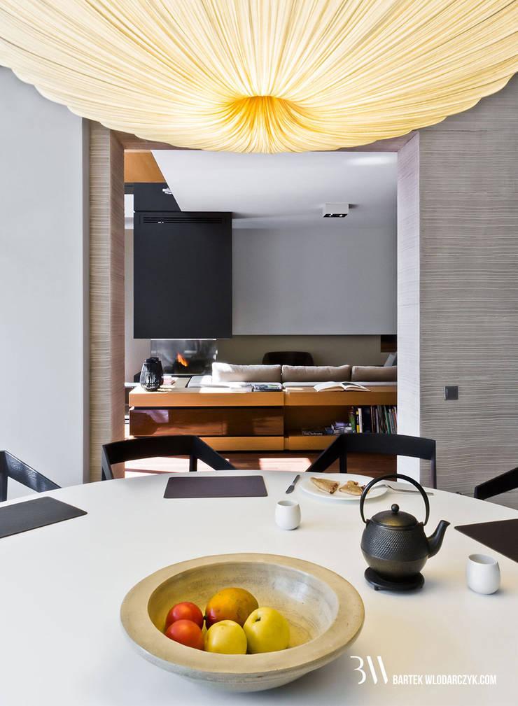 Jadalnia: styl , w kategorii Jadalnia zaprojektowany przez Bartek Włodarczyk Architekt