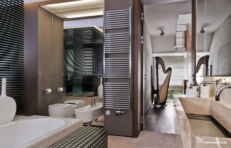Łazienka: styl , w kategorii Łazienka zaprojektowany przez Bartek Włodarczyk Architekt