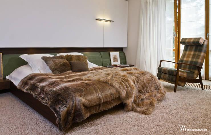 Sypialnia: styl , w kategorii Sypialnia zaprojektowany przez Bartek Włodarczyk Architekt