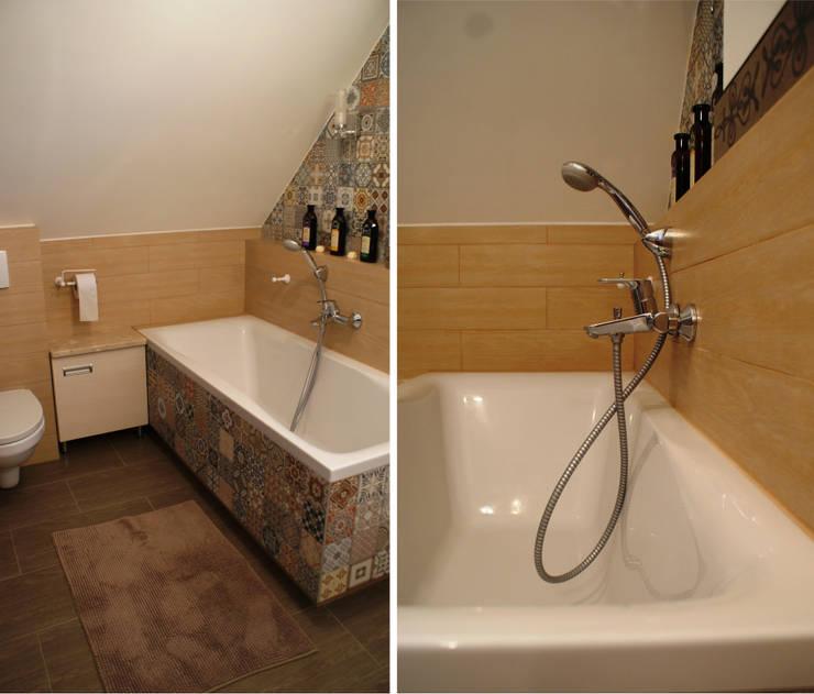 Bathroom in Second floor - bathtube: styl , w kategorii Łazienka zaprojektowany przez Drob Design ,Śródziemnomorski