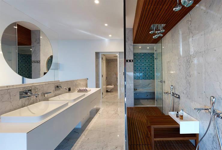 nrp – Süzer Plaza BS Penthouse: modern tarz Banyo