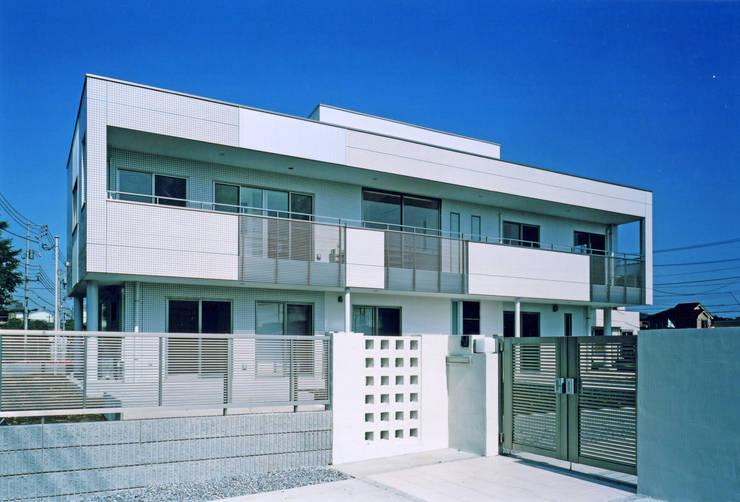 全景: 有限会社アイエスティーアーキテクツが手掛けた家です。