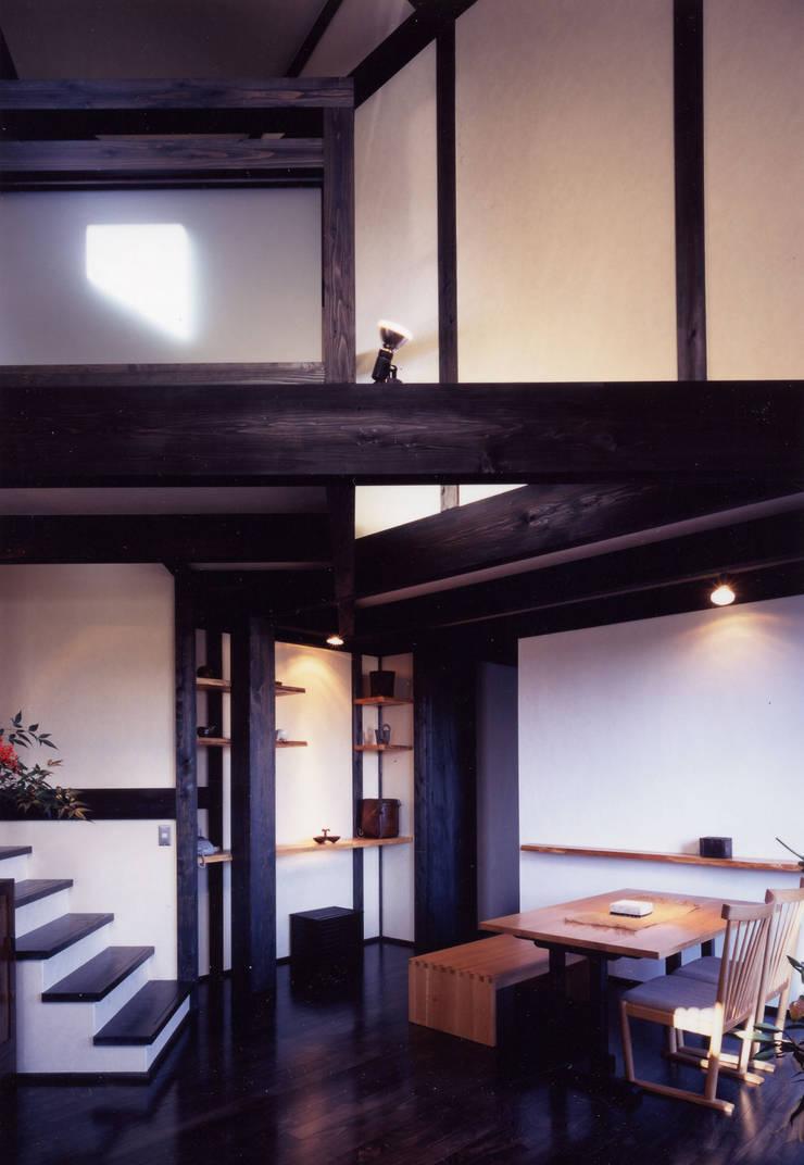 misawa house: 髙岡建築研究室が手掛けたダイニングです。