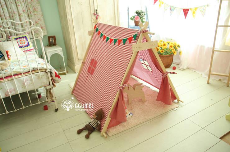 내 아이의 꿈과 상상의 공간 인디언텐트: (주)꿈비의  아이 방