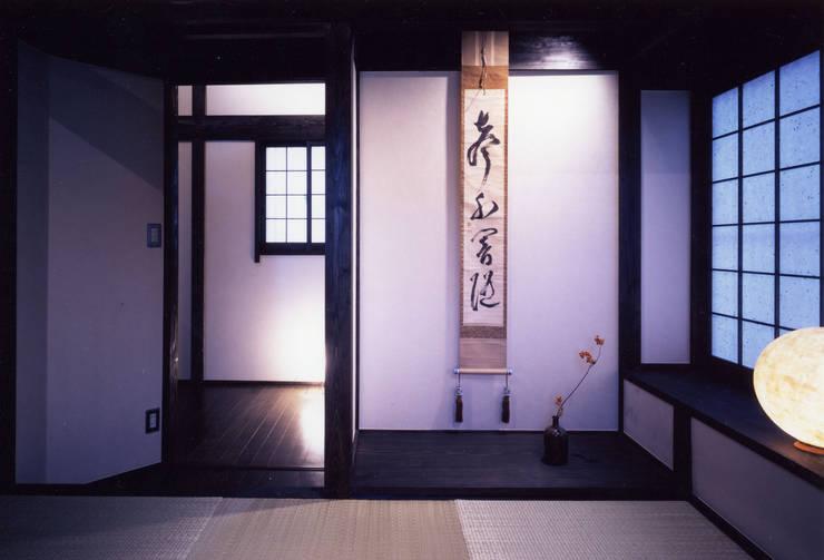 misawa house: 髙岡建築研究室が手掛けた書斎です。