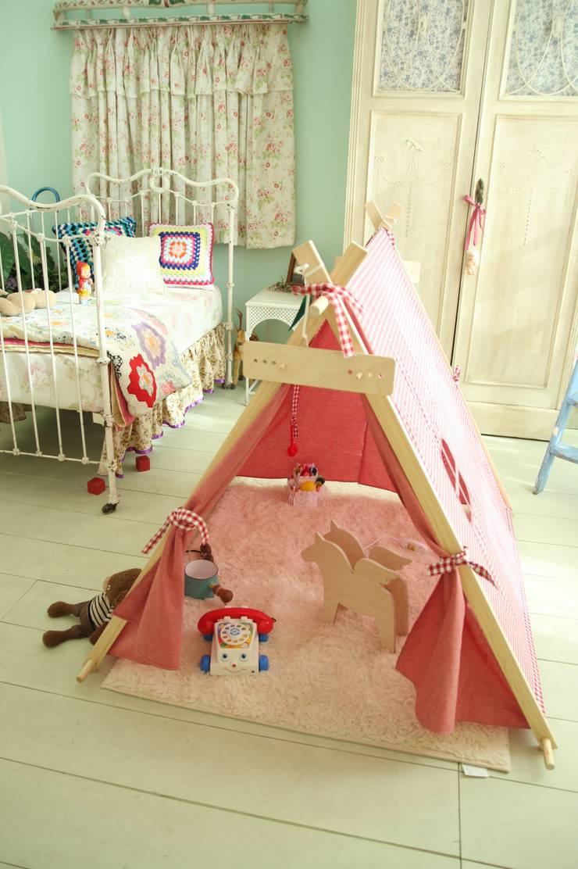 내 아이의 꿈과 상상의 공간 인디언텐트: (주)꿈비의  거실