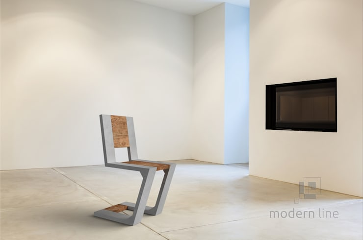 Krzesło Gravity: styl , w kategorii Salon zaprojektowany przez Modern Line