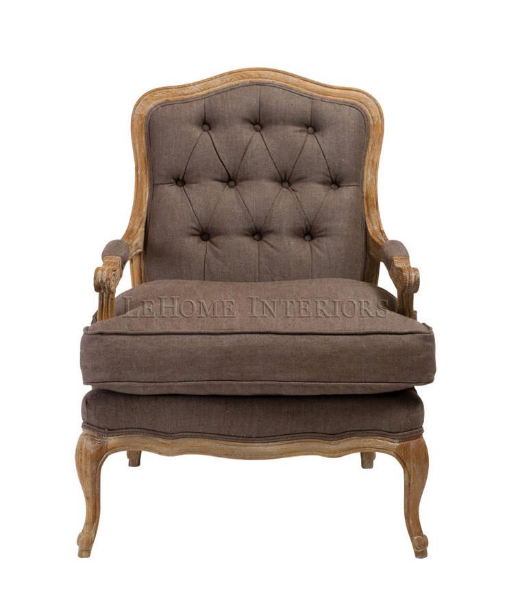 Кресло Basel Armchair A040: Гостиная в . Автор – LeHome Interiors