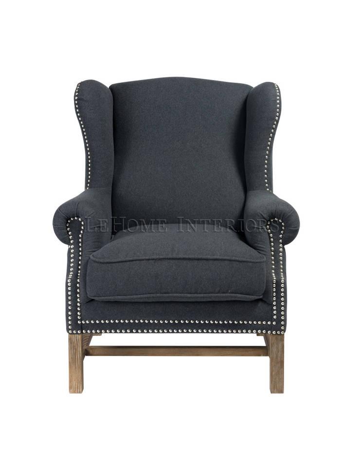 Кресло A079: Гостиная в . Автор – LeHome Interiors