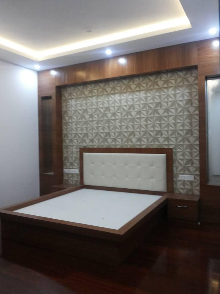 Master Bedroom Concept:  Bedroom by Arka Interio