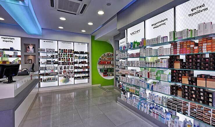 Erc Concept Eczane Tasarım – Libya Eczanesi:  tarz Dükkânlar