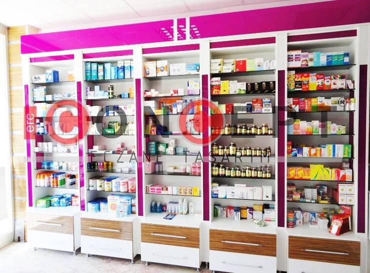 Erc Concept Eczane Tasarım – Damla Eczanesi:  tarz Dükkânlar