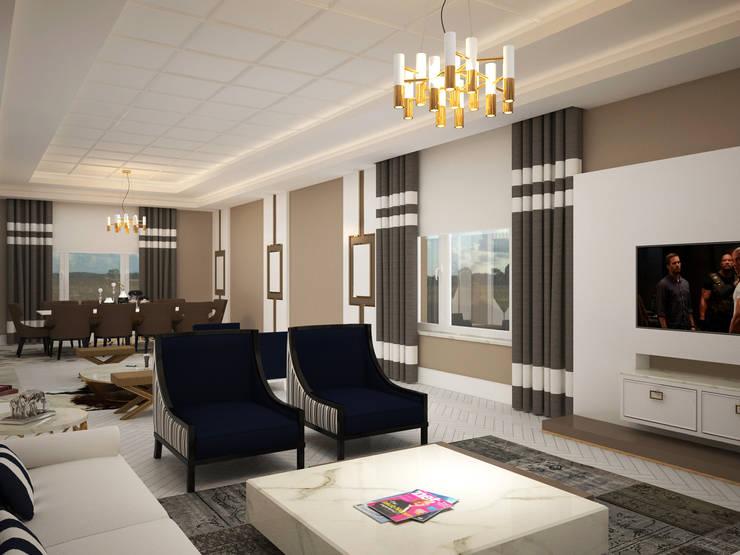 Cenk Doğan Mimarlık – Astana Villa:  tarz