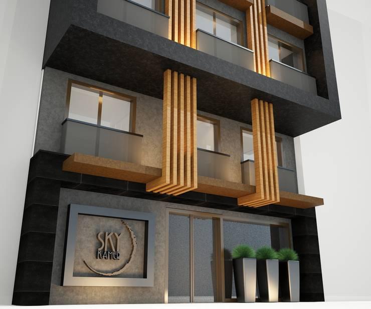 Cenk Doğan Mimarlık – Sky Kamer Hotel:  tarz