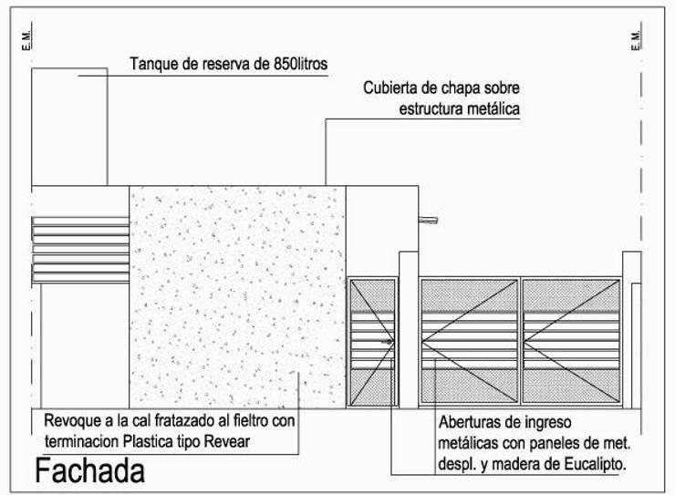 Proyecto Vivienda Multifamiliar: Casas de estilo  por obelarQ,Moderno