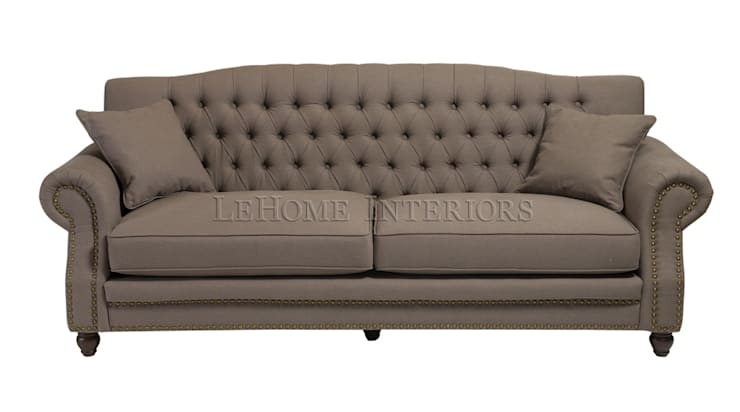 Диван Heritage Sofa S028: Гостиная в . Автор – LeHome Interiors