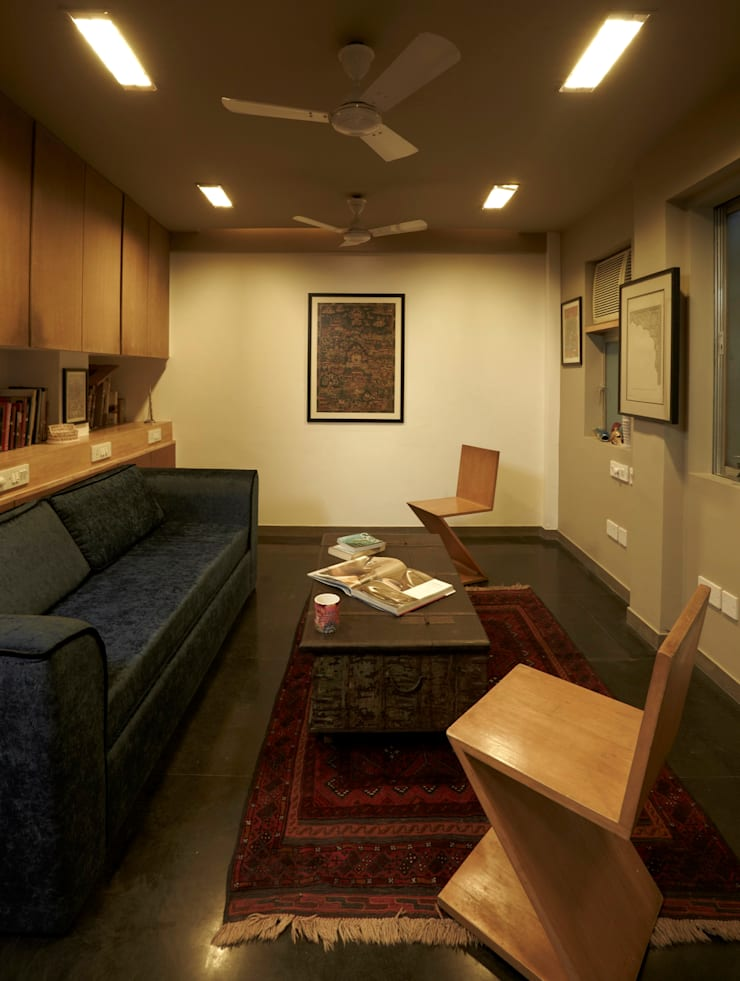 My Studio: eclectic Study/office by Interface