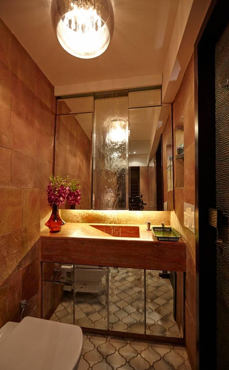 Powder Toilet:  Bathroom by Interface